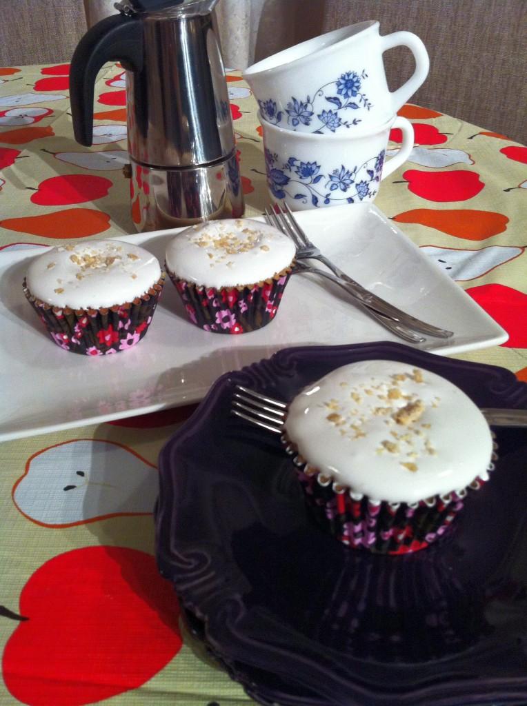 gluten free ginger cupcake