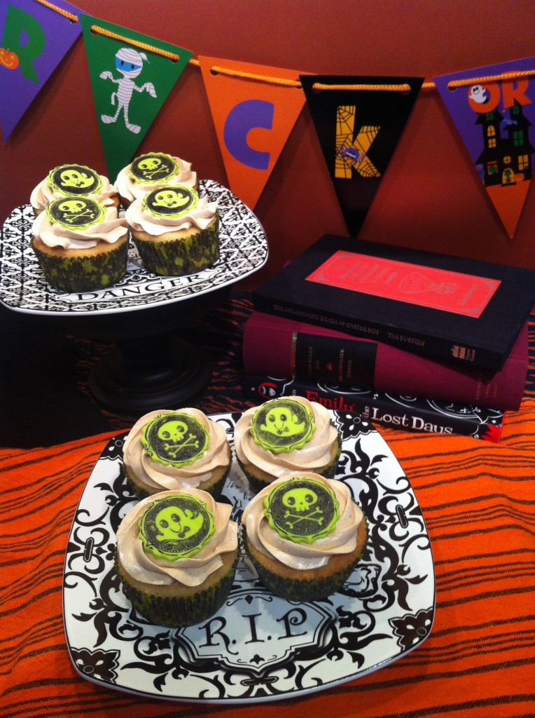gluten free halloween cupcakes