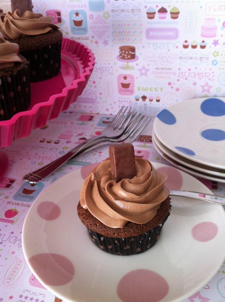 Gluten Free Ferrero Rocher Style Cupcakes
