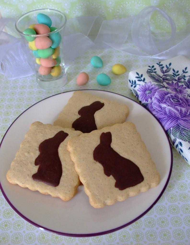 Gluten Free Dairy Free Vanilla Bean Easter Cookie