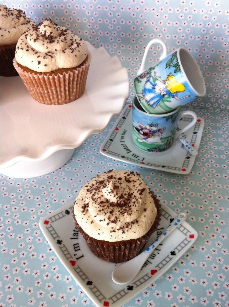 gluten free tiramisu cupcakes