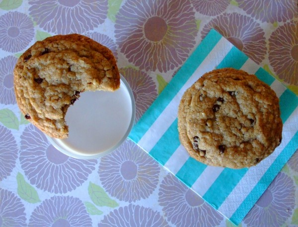 Gluten Free Browned Butter Chocolate Chip Hazelnut Cookies