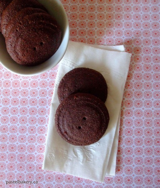 Gluten Free Dairy Free Cocoa Cookies
