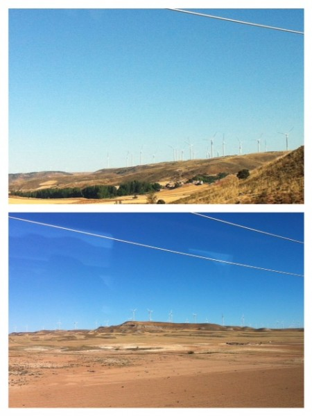 Wind Power all throughout Spain