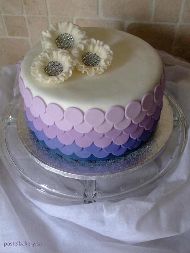 gluten free dairy free wedding cake 1