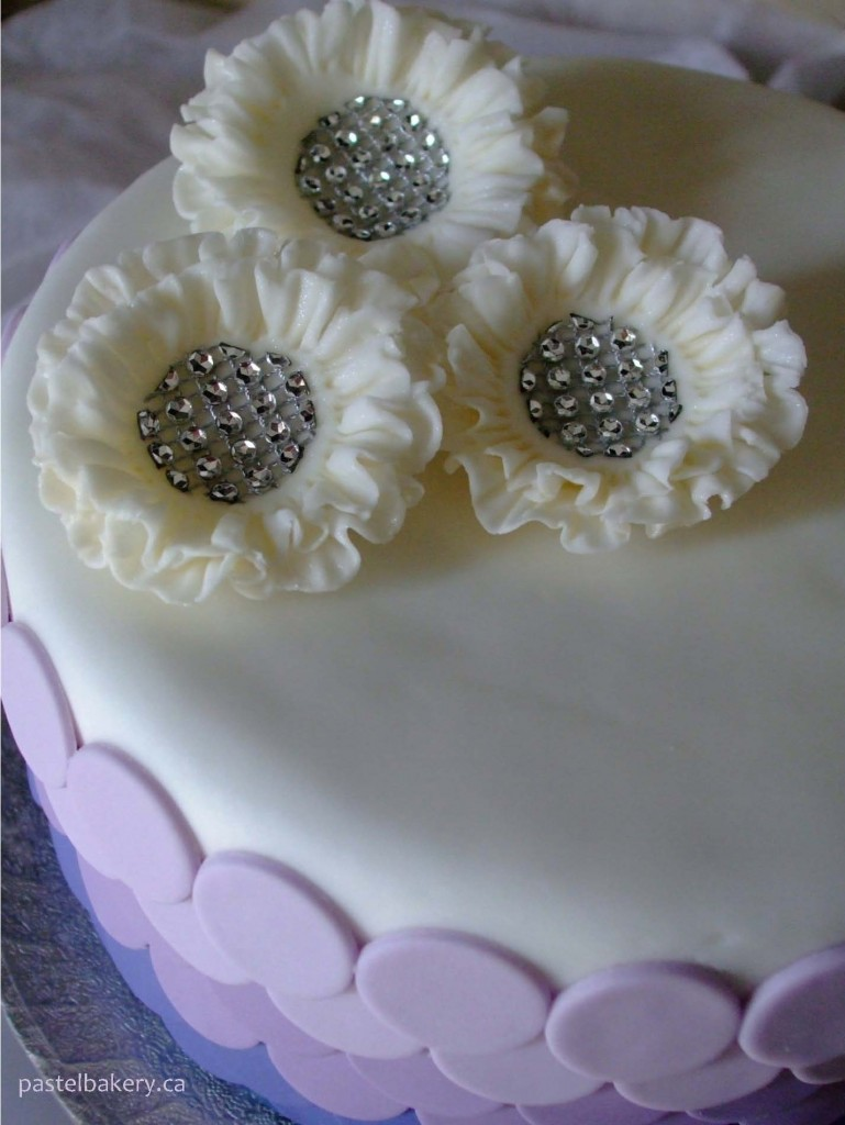 gluten free dairy free wedding cake 2