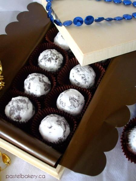 Gluten Free Dairy Free Chocolate Peppermint Truffles 3 | pastelbakery.ca