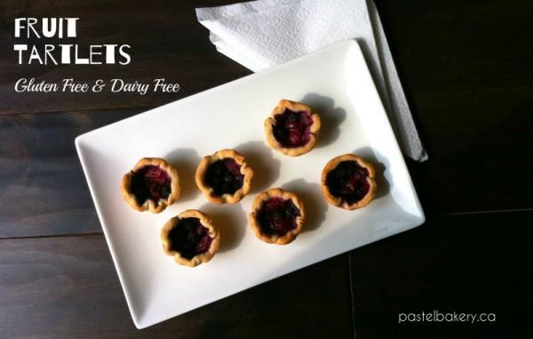Gluten Free Dairy Free Fruit Tartlets | pastelbakery.ca