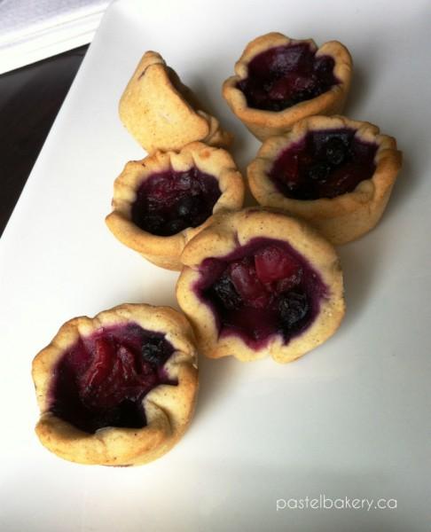 Gluten Free Dairy Free Fruit Tartlets-1 | pastelbakery.ca