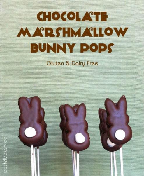 Chocolate Marshmallow Bunny Pops Gluten Free Dairy Free-1 | pastelbakery.ca