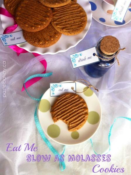 Gluten Free Dairy Free Molasses Cookies | pastelbakery.ca